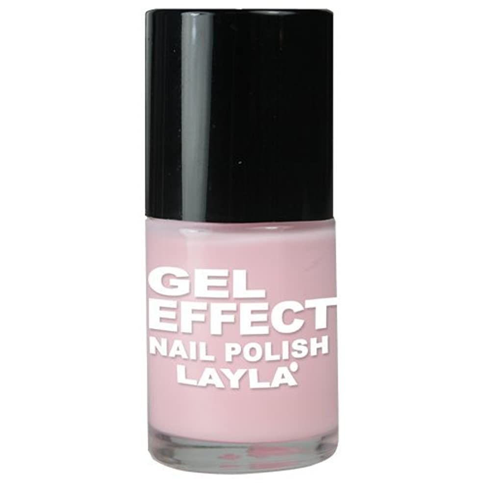 新年無声で言うLayla Gel Effect N02 Pinky Doll Nail Polish
