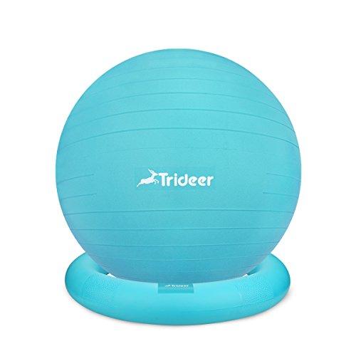 Trideer #1 バランスボールセット (Turkis,55 cm)