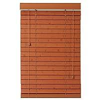 ウィンドウブラインド ベネチアンブラインド家の装飾 停電 ドアカーテン 停電 ローラーブラインド 窓 防水 色合い 寝室 オレンジ 褐色 、35サイズ (Color : Brown, Size : 75x210cm)