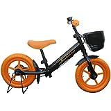 ペダルなし自転車 子供用自転車 ブレーキ付きランニングバイク キックバイク キッズバイク 子ども用自転車 Airbike