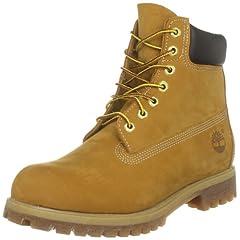 Timberland Waterproof 6 Inch Premium Boot: 10061 Wheat Nubuck