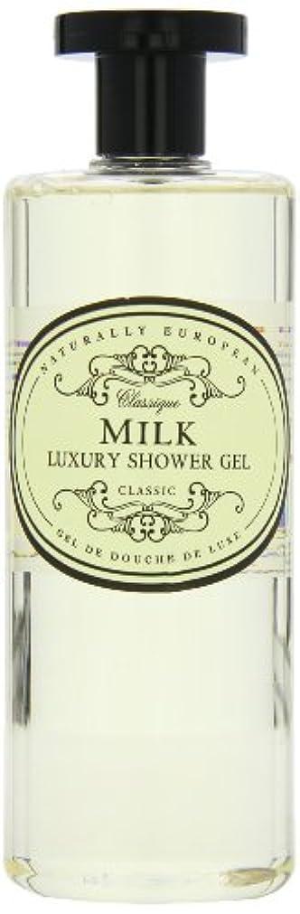 アジャジェーンオースティン誇りに思うNaturally European Milk Luxury Refreshing Shower Gel 500ml