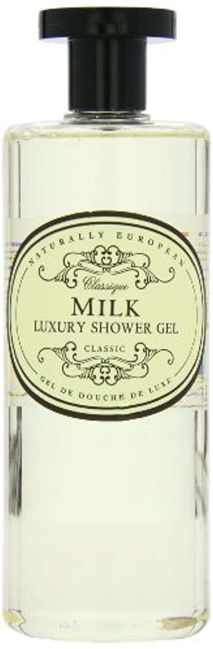 台無しにマイルストーンシネウィNaturally European Milk Luxury Refreshing Shower Gel 500ml