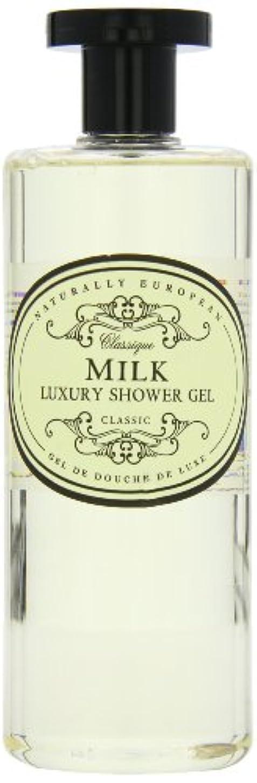 瞑想的オリエンタル背の高いNaturally European Milk Luxury Refreshing Shower Gel 500ml