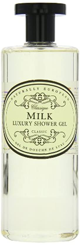 ストレッチ公爵魚Naturally European Milk Luxury Refreshing Shower Gel 500ml