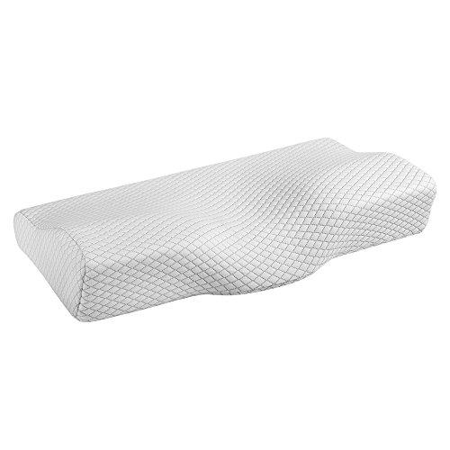 Jerrybox 枕 安眠 低反発枕 まくら 健康枕 ストレートネック枕 人間工学設計による曲線枕 快眠枕 頭・首・肩を優しくサポート ストレス解消 仰向き横向き対応