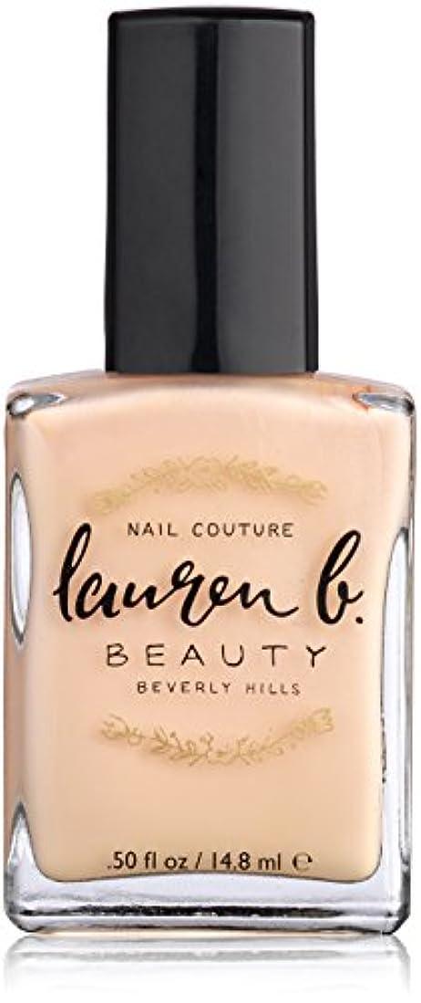 童謡再撮り実行するLauren B. Beauty Nail Polish - #Nude No. 1 14.8ml/0.5oz