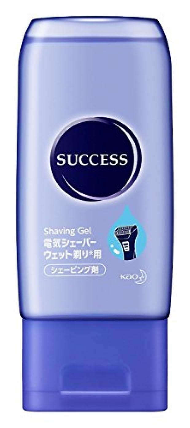 満員無人曲げる【花王】サクセス ウェット剃りシェーバー専用ジェル 180g ×10個セット
