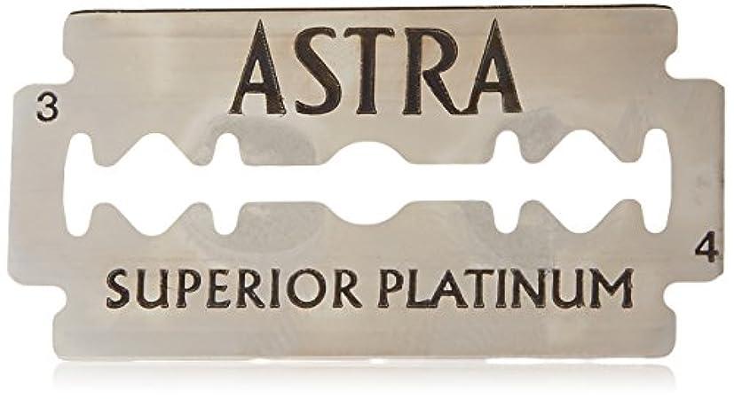 Astra Superior Platinum (アストラ 優れたプラチナ) 両刃替刃 50個入り (5 x 10) [並行輸入品]