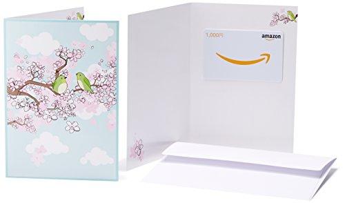 Amazonギフト券(グリーティングカードタイプ ) - 1,000円 (春)