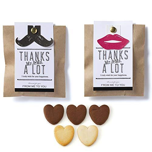 【単品】1箱 Mr.&Mrs. ミスターアンドミセス ハートクッキー