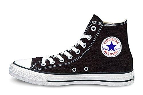 CONVERSE(コンバース) コンバース オールスター キャンバス ハイカット CONVERSE  CANVAS ALL STAR HI レディース メンズ シューズ スニーカー 靴 Black(ソール/白) 4(23.0cm)