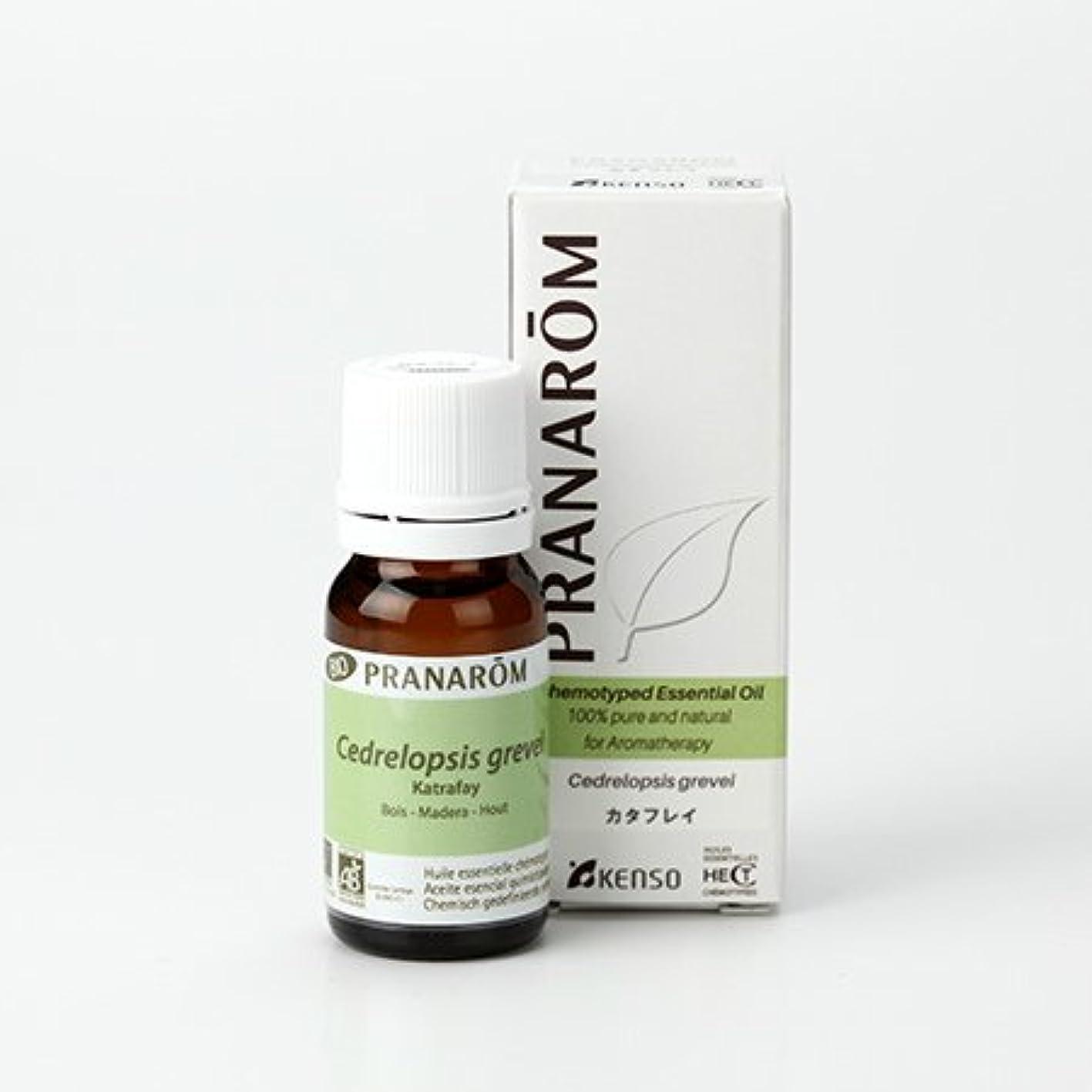 床を掃除する古い継続中プラナロム カタフレイ 10ml (PRANAROM ケモタイプ精油)