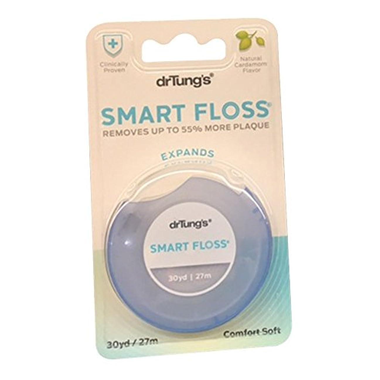 店員マーチャンダイジング悪名高い【並行輸入品】Dr. Tung's Products: Smart Floss Dental Floss 30 yards (12 pack)