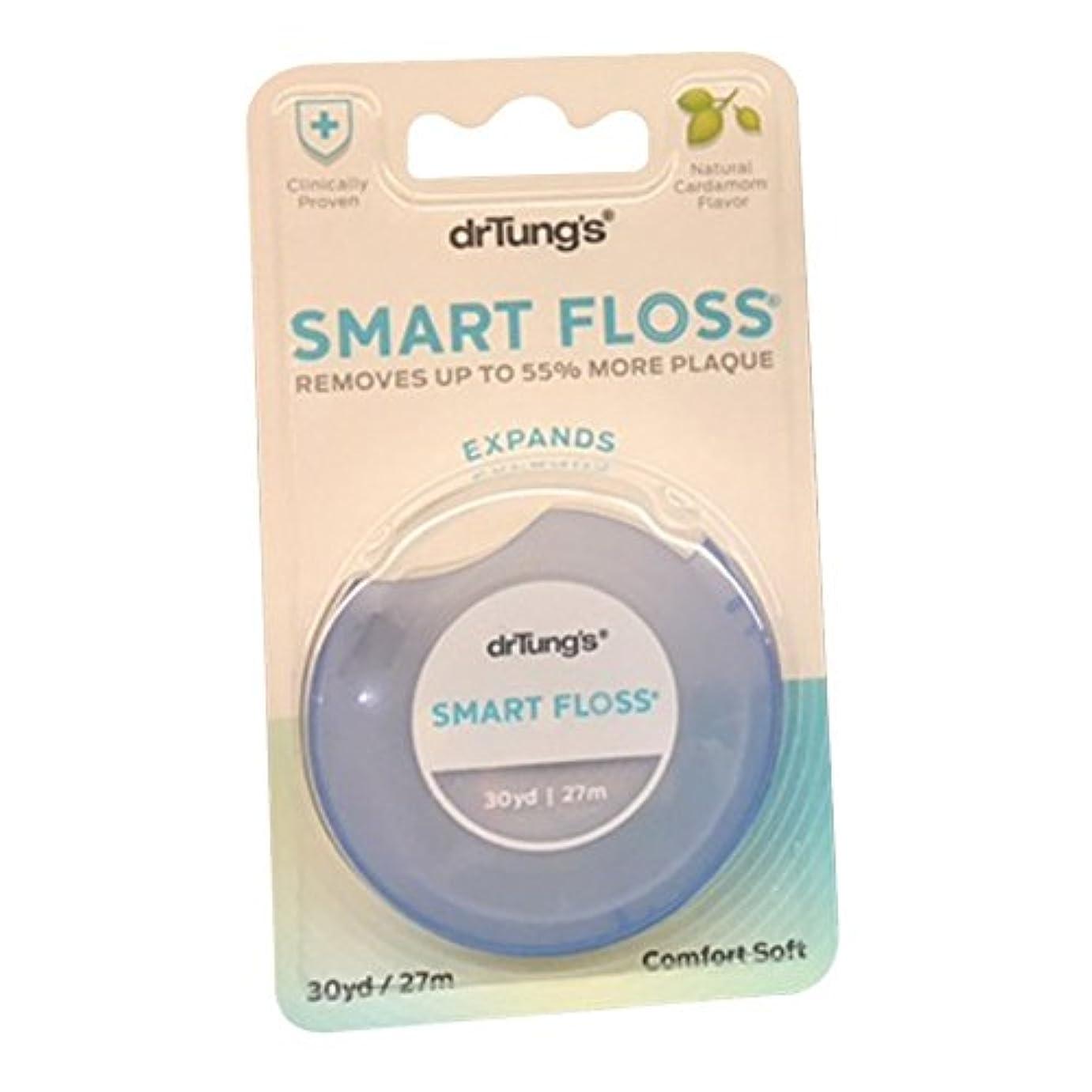 クリーム火炎ライセンス【並行輸入品】Dr. Tung's Products: Smart Floss Dental Floss 30 yards (12 pack)