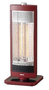 ピアンテ カーボンヒーター900w[レッド]暖かさ2倍で電気代半分!