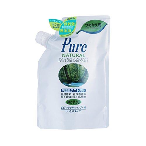 Pure NATURAL(ピュアナチュラル) シャンプー M (しっとりタイプ) 詰替用400ml