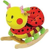Charm Company Lady Bug Rocker with Musical Sound by Charm Company