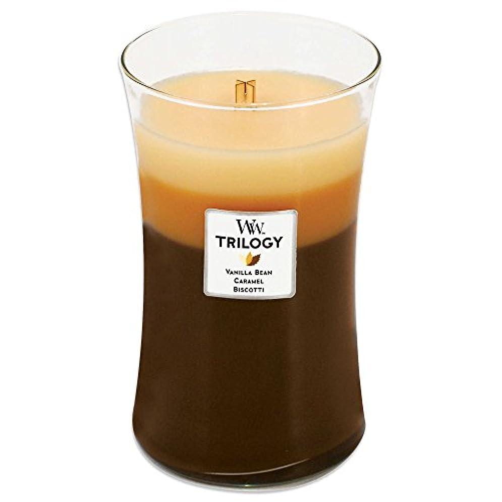 寄稿者全国増幅器Woodwick Café Sweets Trilogy 22-ounce Jar Candle