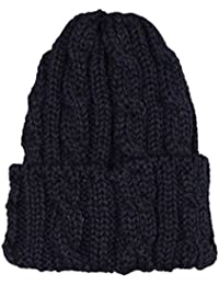 (ハイランド2000) HIGHLAND 2000 CABLE BOB CAP - BRITISH WOOL/NAVY ONESIZE