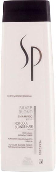 Wella SP Silver Blonde Shampoo for Highlighted & Bleach Hair, 250ml
