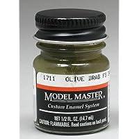 OLIVE DRAB (FS34087) 1/2 oz Enamel Paint Bottle by Testor Corp. [並行輸入品]