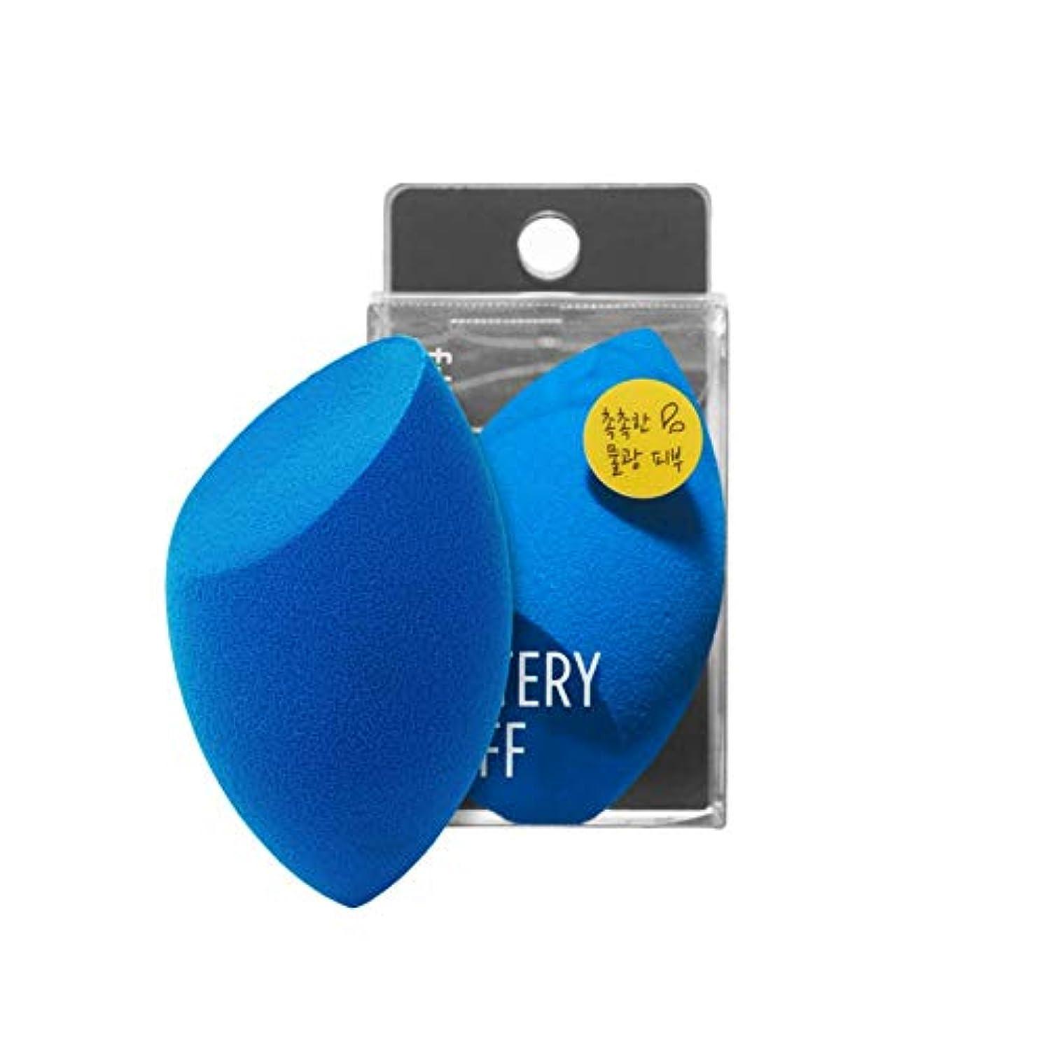 宿命難破船民間人fillimilli Make-up Sponge Watery Puff しっとりパフ (チョクチョクパフ) 1個 (Olive Young) [並行輸入品]