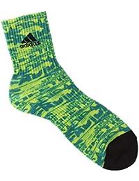 アディダス(メンズレッグウェア)(adidas(Mens Leg Wear)) adidas(アディダス) デジタルプリント サイドロゴ ショート丈ソックス