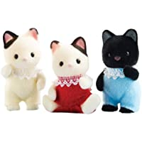 Calico Critters Tuxedo Cat Triplets by Calico Critters [並行輸入品]