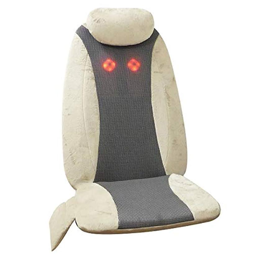 シネマ協同着実にクロシオ シートマッサージャー うらら 肩こり 首 肩 腰 背中用 [医療機器認可取得 ハンディマッサージャー 首マッサージャー マッサージ機 スリム ベージュ] 023689