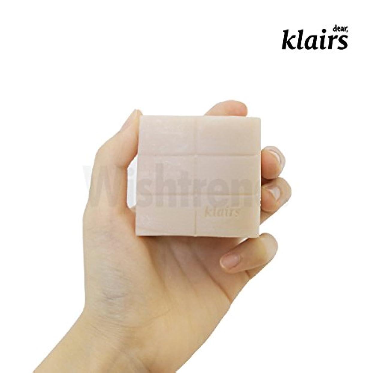 接ぎ木暫定の取り壊す【クレアス】リッチモイストフェイシャルソープ120g|石けん・石鹸・フェイシャルソープ・ソープ・敏感肌|[dear,klairs] Be Clean Natural Soap 120g