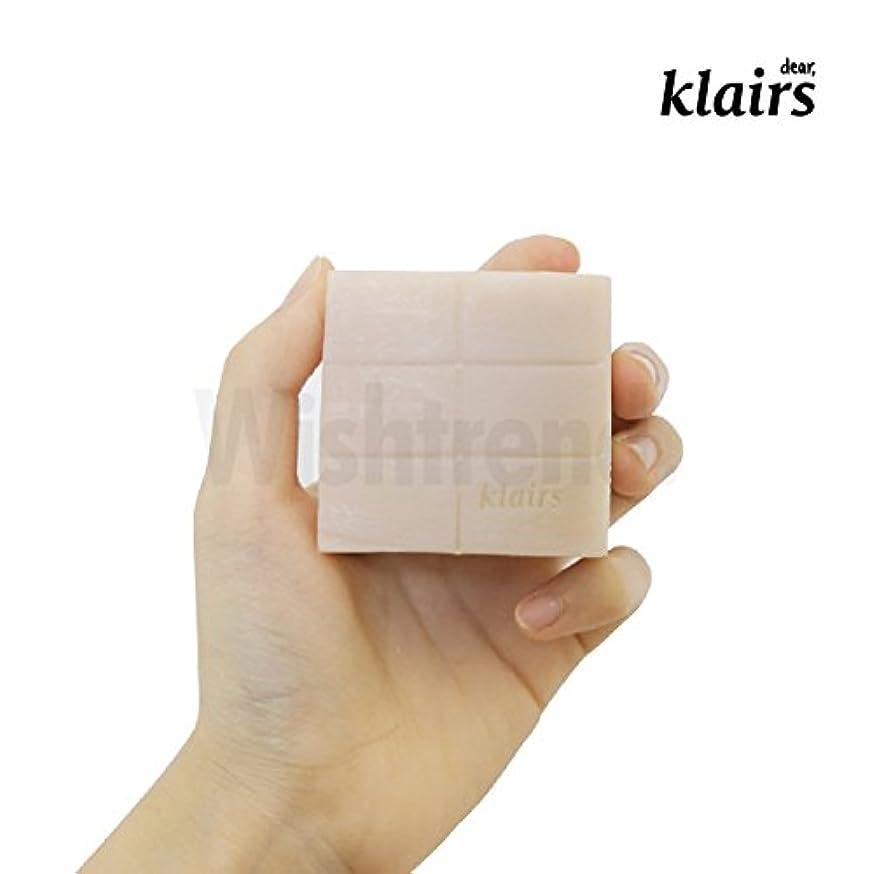 ズーム兄騒ぎ【クレアス】リッチモイストフェイシャルソープ120g|石けん?石鹸?フェイシャルソープ?ソープ?敏感肌|[dear,klairs] Be Clean Natural Soap 120g
