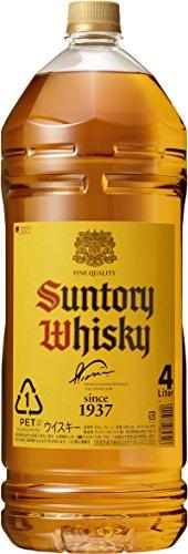 サントリー ウイスキー 角瓶 4L ペット