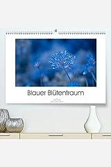 Blauer Bluetentraum(Premium, hochwertiger DIN A2 Wandkalender 2020, Kunstdruck in Hochglanz): Zarte blaue Bluetenfotos verzaubern uns das ganze Jahr (Monatskalender, 14 Seiten ) カレンダー