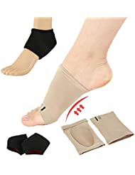 Thatboyjp 足首サポート 足首ブレース 足底筋膜炎 足の痛み解消 サイズ調整可能 アーチサポーター シリコン素材 足の痛み防止 足裏 フリーサイズ 男女兼用