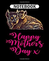 Notebook: abstract mom design perfect for mothers day  College Ruled - 50 sheets, 100 pages - 8 x 10 inches