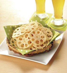 れんこんチップス 500g 【冷凍】/味の素(1袋)