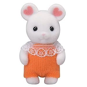 シルバニアファミリー 人形 マシュマロネズミの赤ちゃん