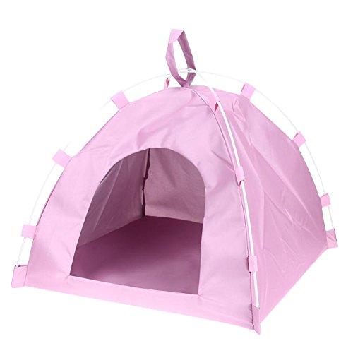 ペットテント 折り畳み 防水 猫犬用テント 小屋 ペットハウス キャンプ用 ペット用品