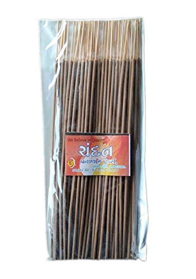 よろめくばか虫を数えるDivyam Chandan Incense Stick/Agarbatti -Brown (500 GM. Pack)