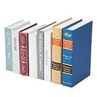 ペーパーフェイクブック8冊セット ディスプレイ 軽量 イミテーション洋書