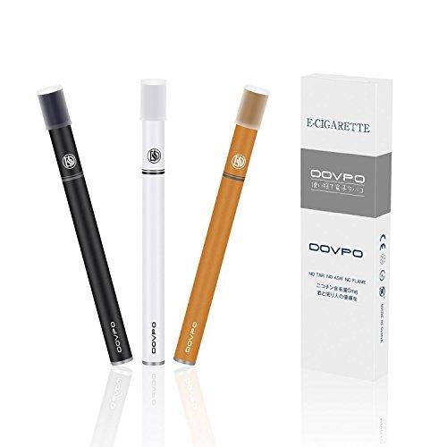 DOVPO 電子タバコ 禁煙補助に最適 使い捨て 吸引回数300回/本 3本セット...