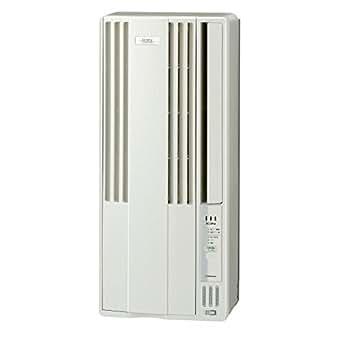 コロナ 窓用エアコン(冷房専用・おもに4.5~7畳用 シティホワイト)CORONA CW-FA1818-W