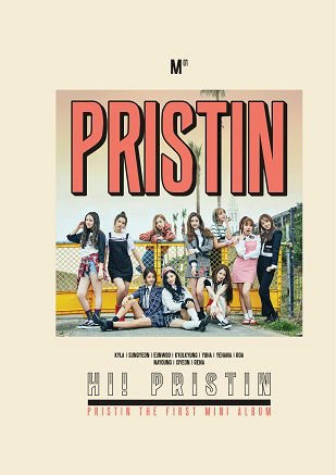 Pristin 1stミニアルバム - Hi! Pristin (Prismatic Version A)