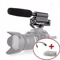 マイクSGC - 598写真インタビューfor YouTube VloggingビデオショットガンマイクMic、Canon DSLR SGC 598 6204512952657