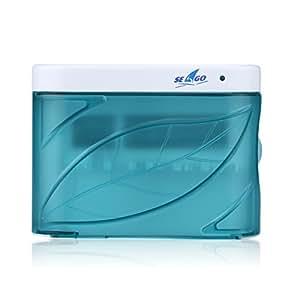 Seago SG-103A 歯ブラシ除菌器 UV オゾン 殺菌消毒 タイマー 自動 壁掛け 家族用 ブルー