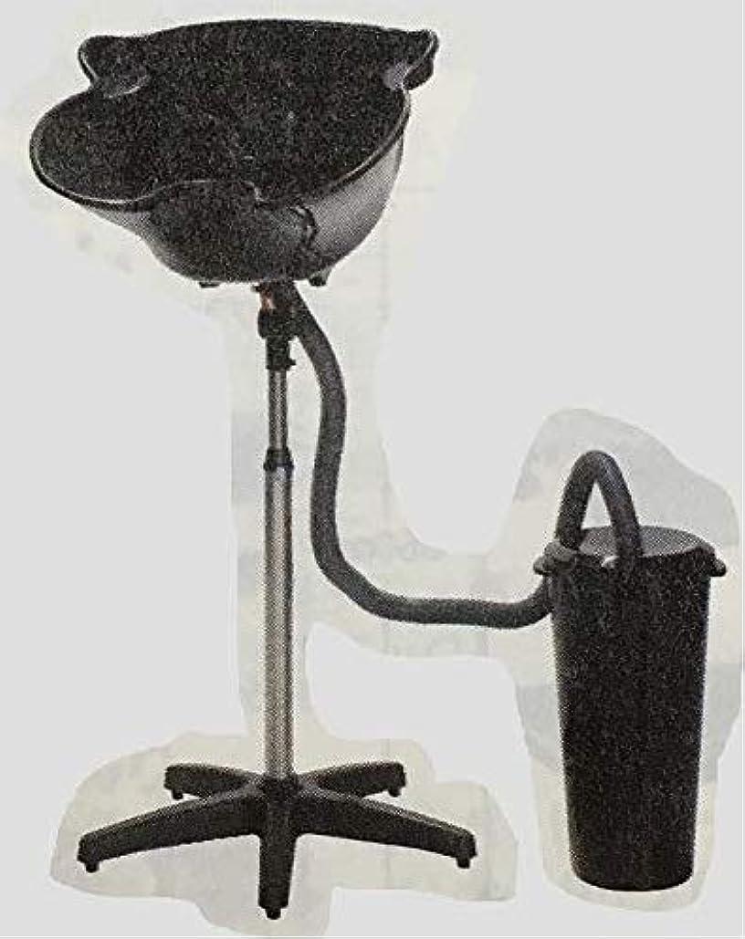 観光に行く安価な震える簡易式シャンプー台 (排水バケツ付)