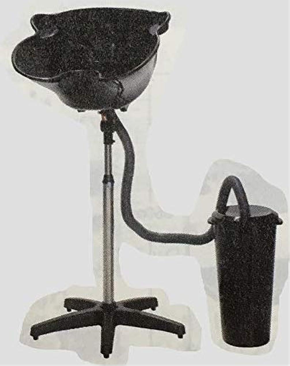 テーブルを設定するズームインする土曜日簡易式シャンプー台 (排水バケツ付)