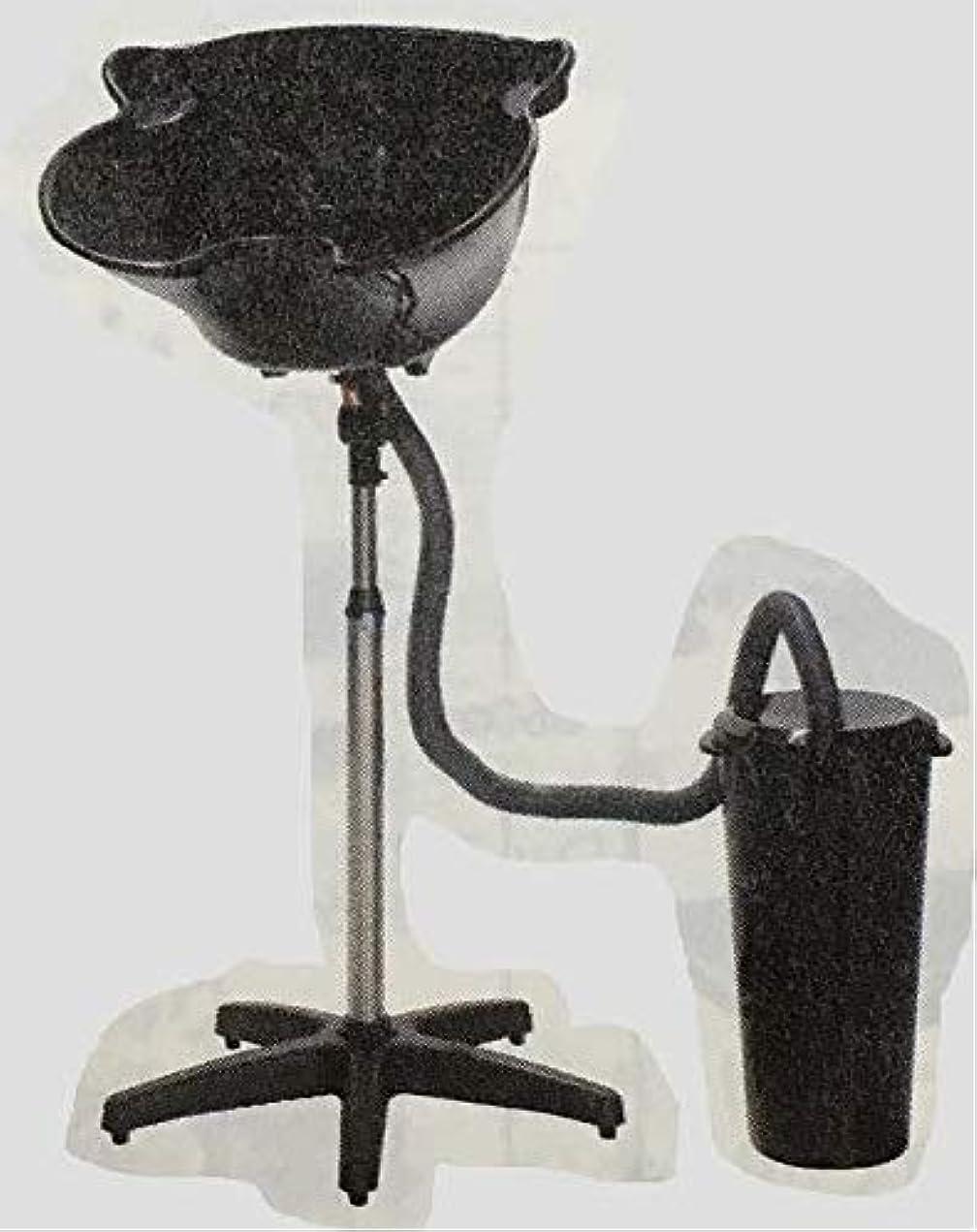 スロベニアコウモリ彼簡易式シャンプー台 (排水バケツ付)