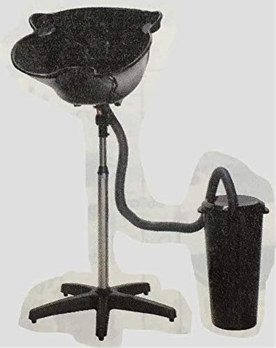 簡易式シャンプー台 (排水バケツ付)